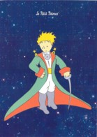 CPM Illustrée St Exupéry Le Petit Prince En Habit De Prince Chevalier Et Son épée - Fairy Tales, Popular Stories & Legends
