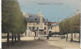 ~ JP  ~  88  ~  SENONES  ~  Place Du Chateau  ~ Couleur  Rare  ~ - Senones