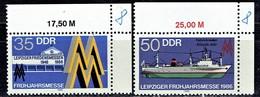 DDR / GDR - Mi-Nr 3003/3004 Postfrisch / MNH ** (A1210) - Schiffe