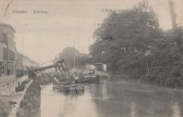 CHATELET - 1913 - L'ecluse - Canal - Châtelet