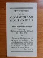 Communion Solennelle Maria Denise Gilles Omal Geer 1940 - Andachtsbilder