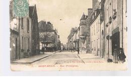 CPA Saint Epain (37) Rue Principale - France