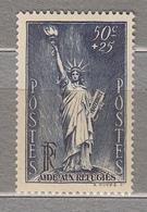FRANCE 1937 Statue Of Liberty Semi Postal Yv 352 Mi 357 Sc B44 Mint (*) #15790 - Francia