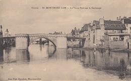 86 - Montmorillon - Le Vieux Pont Sur La Gartempe - ( Les Lavandières ) - Montmorillon