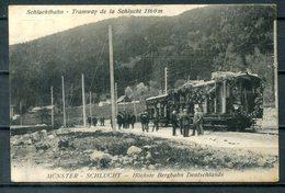 """CP """"Tramway De La Schlucht"""" -  Voir Les Scans - France"""