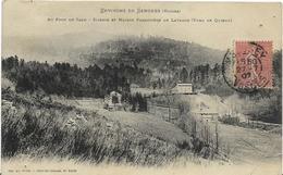 ~ JP  ~  88  ~  SENONES  ~  Au Pont De Salm ~  Scierie  Et Maison Forestiére De  LAVANGE ~ - Senones