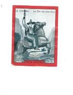 Chromo LE CINEMA Le Film De Cow-boy Pub: Felix Potin Ma Collection 1930s TB 52 X 40 Mm RARE 2 Scans - Félix Potin
