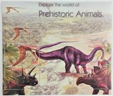Gambia 2003**Mi.5030-33 Prechistoric Animals , MNH [5;22] - Briefmarken
