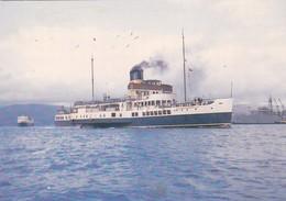 Postcard Pleasure Steamer Caledonia At Sea [ Reproduction ] My Ref  B24255 - Steamers