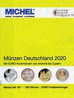 MICHEL Münzen Deutschland+EURO 2020 New 30€ Ab 1871 DR 3.Reich BRD DDR Numismatik Coins Catalogue 978-3-95402-303-5 - Non Classés
