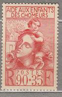 FRANCE 1939 Mother And Child Semi Postal Yv 428 Mi 447 Sc B84 Mint (*) #15819 - Francia