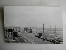 PHOTO M. Rifault - Train - Bobigny - 1952 - Trains