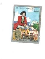 GULLIVER Les Types Littéraires Pub: Felix Potin Ma Collection 1930s TB 52 X 40 Mm RARE 2 Scans - Félix Potin
