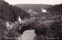 Eibenstein * Fluss, Felsen, Burgruine, Kirche, Teilansicht * Österreich * AK992 - Raabs An Der Thaya