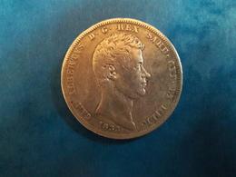 5 LIRES CHARLES ALBERT - ETATS ITALIENS SARDAIGNE - Monnaies Régionales