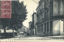 (VILLEFRANCHE SUR SAONE )( 69 RHONE ) LA BANQUE DE FRANCE - Villefranche-sur-Saone