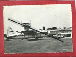 CPSM  Grand  Format - Le Touquet -(P.-de-C.) - L'Aéroport  ( Avion , Aviation ) - Le Touquet