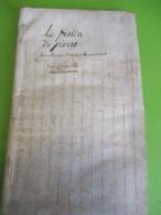 """Fascicule Théâtre/DOM JUAN/""""Le Festin De Pierre""""/Comédie En 5 Actes & En Vers/Thomas CORNEILLE / Molière/1792   FAT18 - 1701-1800"""