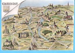 Confolentais-Confolens-Charente-Région-Alloue-Manot-La Peruse-Chabanais-Montemboeuf-Chasseneuil-Briegueil-Lesterps-Esse - Confolens