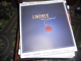 Lot N° 29 :  Année 2010 - Pré-Imprimés