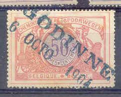 NB083   TR 35 Nord - Belge Stempel GODINNE - Chemins De Fer