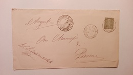 1891 - Lettera All'Anagrafe Del Municipio Di Piovene (VI) Dal Municipio Di Monte Di Malo (VI) - Storia Postale