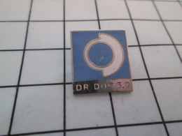 1118B Pin's Pins / Beau Et Rare / THEME : INFORMATIQUE / DR DOS 6.0 - Informatique