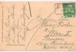 Carte De St. LEONHARD  1912 - Covers & Documents