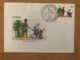 Sénégal 1994 FDC Mi. 1346 Joint Issue Emission Commune Portugal 550ème Anniversaire Des Premiers Contacts - Joint Issues