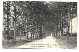 BRIE COMTE ROBERT - Route Paris-Melun - Brie Comte Robert