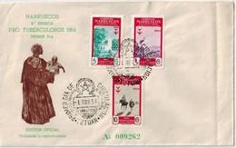 MARRUECO   PRO TUBERCULOSOS 1954 - Isole Marianne