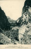 China Chine  A La Frontière Pont Du Chemin De Fer Vers Le Yunnan  ?  Carte Postale Sans Dos  CI De L'Ag Indo-chine - Chine