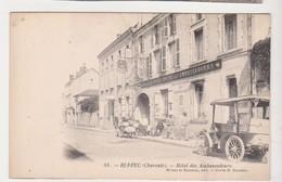 27540 RUFFEC Hotel Des Ambassadeurs 16 FRANCE Voiture Ancienne  Attelage - Turismo