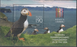 +Iceland 2009. NORDIA'09. Bloc. Michel 47. MNH(**) - Blocks & Sheetlets