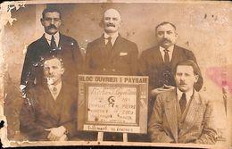 Bloc Ouvrier Et Paysan Ardennes 1924 - France