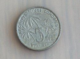 Archipel Des Comores 5 Francs 1964 - Comoren