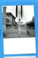 NY595, Lausanne, Place De La Gare, 37e Comptoir Suisse, Photo 1956 - Luoghi