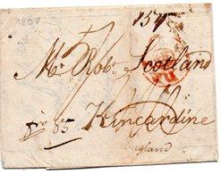 Foreign-de 12-1807--fro 85,taxe --origine ?peu De Texte-voir Scans - ...-1840 Préphilatélie