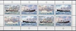 +Iceland 1995. Post Ships. Sheetlet. MNH(**) - Blocs-feuillets