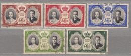 MONACO 1956 Royal Family Mi 561-565 Used (o) #15977 - Monaco
