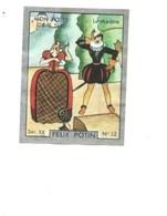 Le Theâtre Mon Poste De TSF Pub: Felix Potin Ma Collection 1930s TB 52 X 40 Mm RARE 2 Scans - Félix Potin