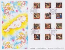 Enveloppe  FDC  Grand  Format  1er  Jour  FRANCE    NATIVITES    Musées  De  France   2011 - 2010-....