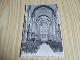Brest (29).L'église Saint-Martin - L'intérieur. - Brest