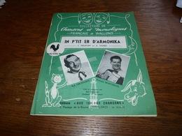 Partition Bob Dechamps Fernand Montreuil - Chanson En Wallon In P'tit Er D'Armonika Harmonica - Autres