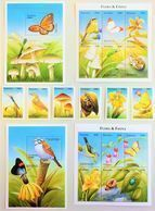 # Tanzania 1999**Mi.3266-89 Small Animals And Plants From Around The World ,  MNH [25;16] - Giraffen