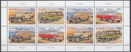 +Iceland 1996. Postcars. Sheetlet. Michel 846-49. MNH(**) - Blocs-feuillets
