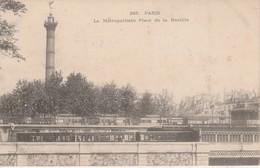 75012 - PARIS - Le Métropolitain -  Place De La Bastille - Métro Parisien, Gares