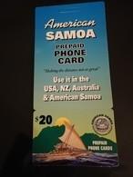 SAMOA  $20, VERY SCARCE  Fine USED  RRRR!!! With Sleeve ** 955 ** - Samoa Américaine