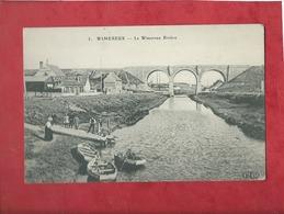 CPA -  Wimereux  - Le Wimereux Rivière - France