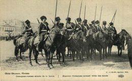 Militaria Militaire Guerre 1914 - Cosaques Russes Armés De La Lance   WWICOLLECTION - Russie